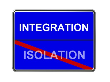 isolation: integration- isolation sign
