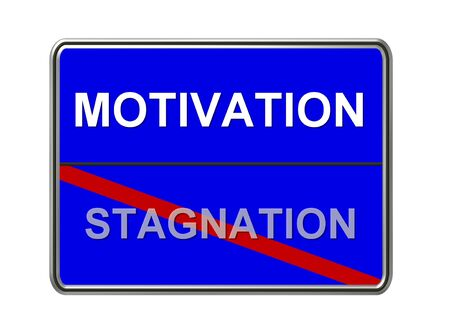 stagnation: motivation - stagnation sign