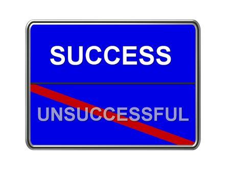 başarısız: success - unsuccessful sign