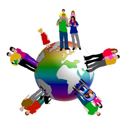 worldwide people photo