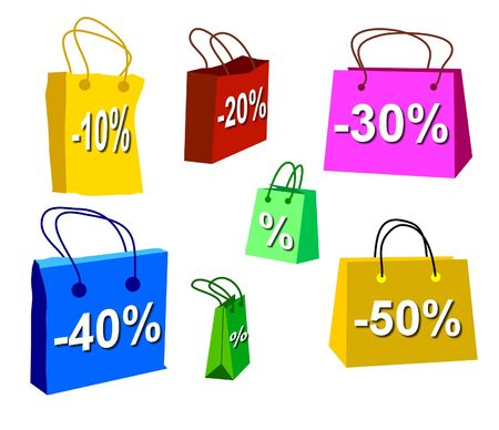sale shopping bags 1 photo
