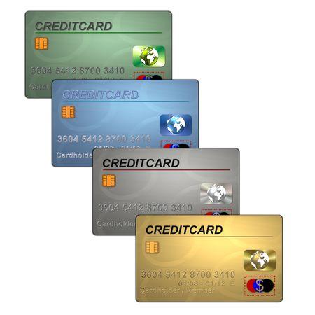 creditcards: creditcards Stock Photo