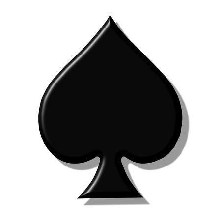 spades 3d photo