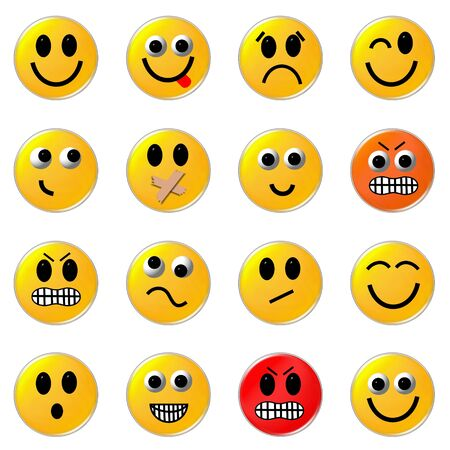 smileys: smileys Stock Photo