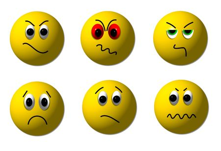 angry smileys photo