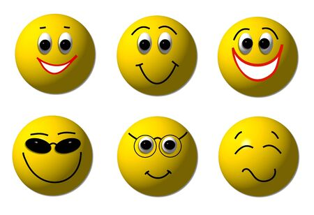 smileys: happy smileys