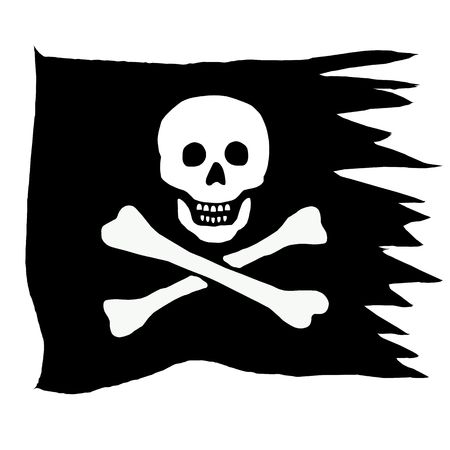 pirate flag: pirate flag 1