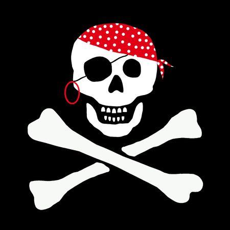 pirat skull Stock Photo - 4583514