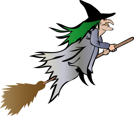 halloween witch 3 Vector