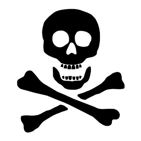 calavera pirata: cruzadas