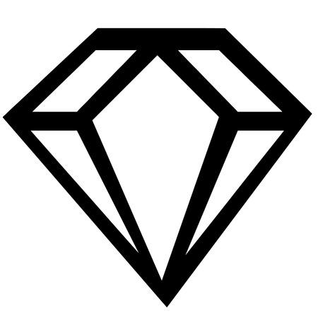millonario: signo de diamantes Vectores
