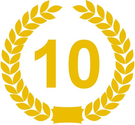 laurel wreath 10 years photo