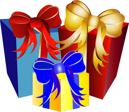 christmas presents Stock Vector - 4891234