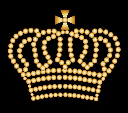queen diamonds: Golden Crown