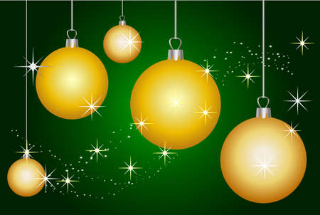 illustration of a christmas background Vector