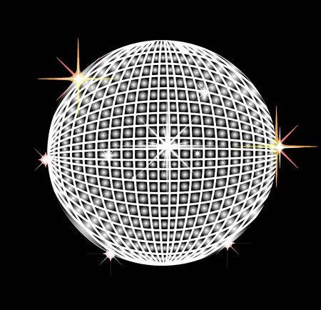 reflector: Disco reflector ball