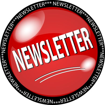 sybol: illustration of a red newsletter button