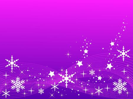 Purple Christmas Background photo