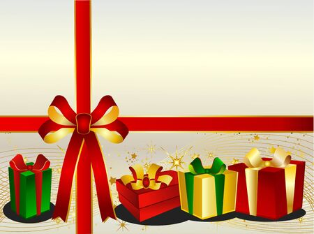 backgraound: Christmas Backgraound with presents