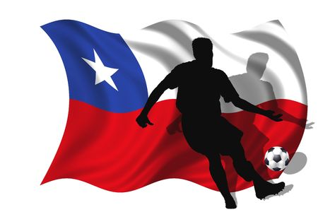 soccer player Chile photo
