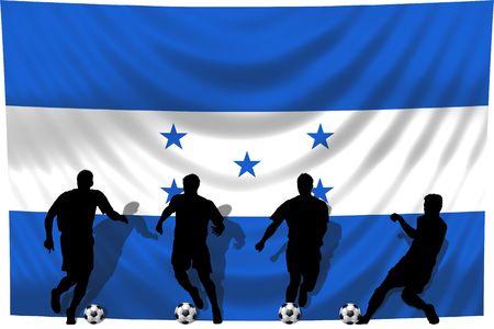 jugador de fútbol Honduras