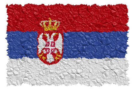 National Flag Serbia Stock Photo - 6167706
