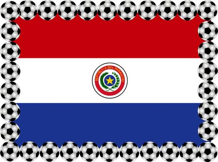 paraguay: Soccer Paraguay Stock Photo