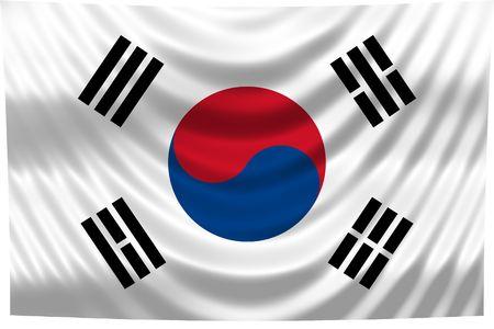 Bandera nacional-Corea