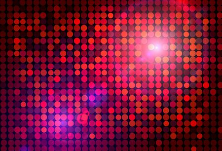 light backround: red disco background Stock Photo