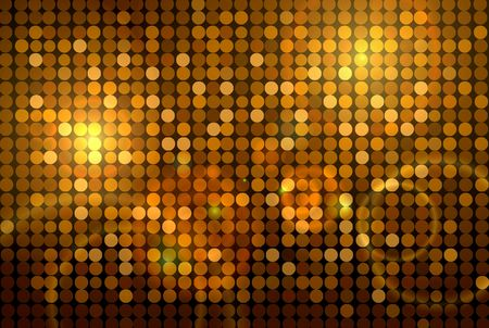 abstract backround: golden disco background