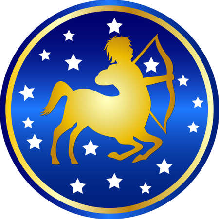 zodiac sign sagittarius photo