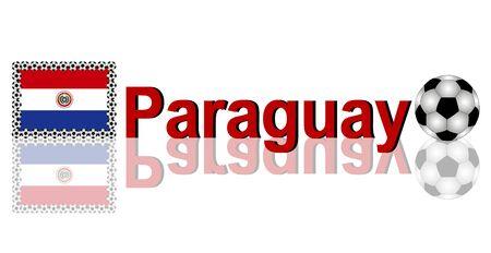 Paraguay: Soccer Paraguay Banque d'images