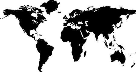 worldmap: illustration of a worldmap
