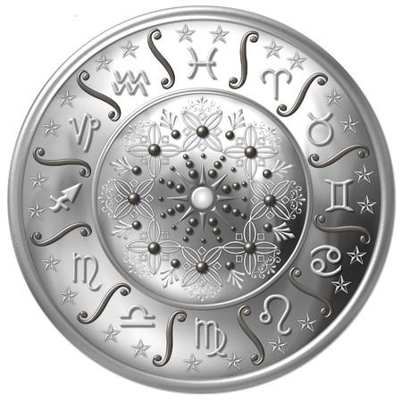 aries zodiac: Zodiac Disc
