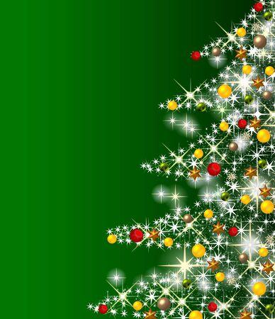tannenbaum: illustration of a christmas tree