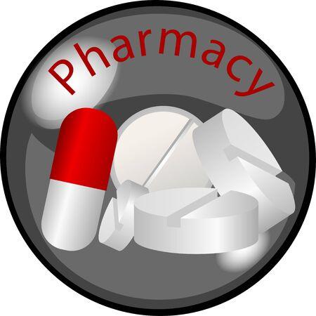 Farmacia de botón