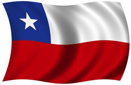 チリの国旗 写真素材 - 8879895