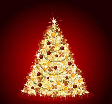 christmasball: christmas tree background