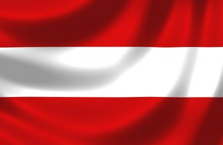 spangled: Flag of Austria