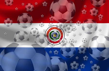 paraguay: Soccer Paraguay Stock Photo