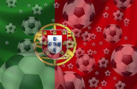 Soccer Portugal Stock Photo - 8879925