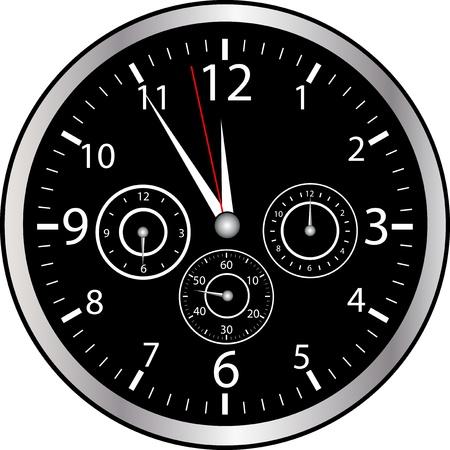bezel: Chrono Watch Stock Photo
