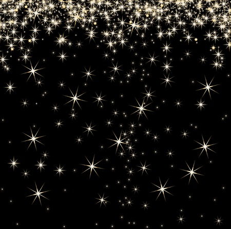 gift background: Stars on background