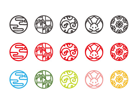 Japanese traditional and cultural icons