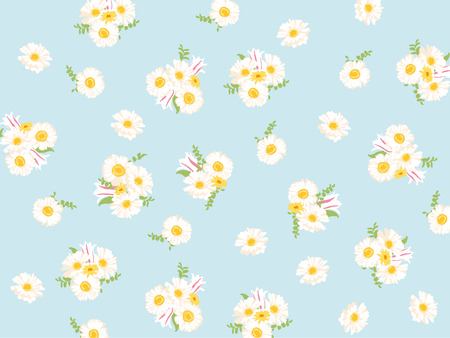 soulful: gerbera pattern Illustration