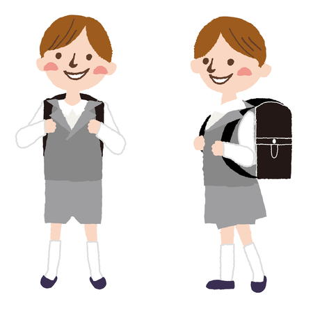 elementary: Elementary school students in Japan