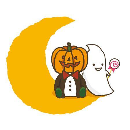 chronicle: Halloween Pumpkin and Ghost