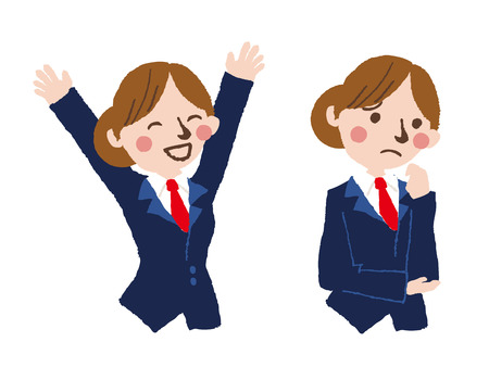 happy student  vector illustration