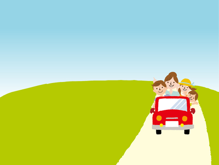 consecutive: I go for a drive in families