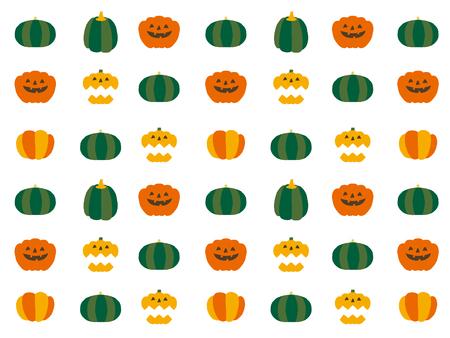 green lantern: halloween icons Illustration